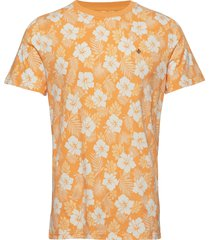 neal tee t-shirts short-sleeved orange morris