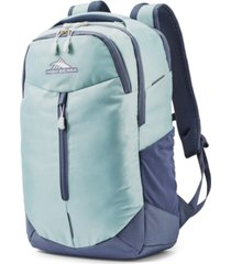 high sierra blue swerve pro backpack