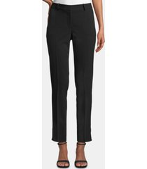 tahari asl petite shannon slim straight-leg dress pants