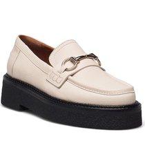 shoes a1236 loafers låga skor beige billi bi