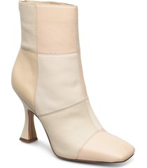 olina buter nappa leather shoes boots ankle boots ankle boot - heel creme sam edelman