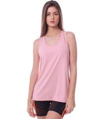 blusa simony lingerie regata new trip  rosa