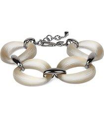 alexis bittar women's lucite organic link soft bracelet