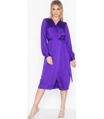closet long sleeve midi dress festklänningar