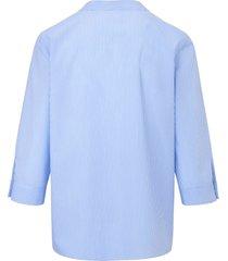 blouse van 100% katoen met 3/4-mouwen van peter hahn multicolour