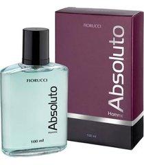 absoluto fiorucci perfume masculino deo colônia 100ml