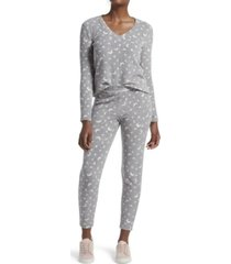 kendall + kylie moon dot leggings pajama set, online only