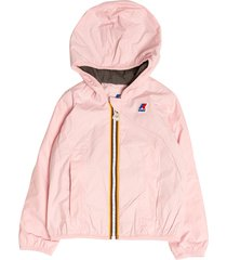 k-way windproof jacket with jersey interior lily poly kway