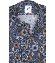mouwlengte 7 overhemd r2 bloemenprint