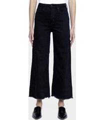 jeans bonnie cropped black ona saez