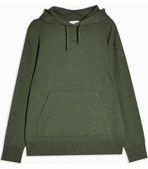 mens khaki classic hoodie