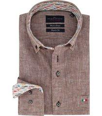 overhemd portofino buirn linnen regular fit