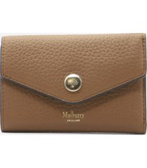 mulberry multi-card wallet in leather