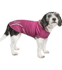 pet life 'pull-rover' premium performance sleeveless dog t-shirt tank top hoodie