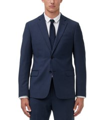 armani exchange men's slim-fit birdseye suit jacket separate