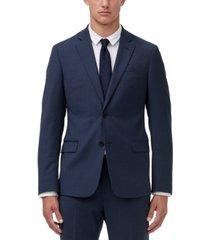 armani exchange men's modern-fit birdseye suit jacket separate