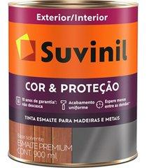 tinta esmalte premium brilhante cor & proteção areia clara 900ml