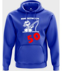 bluza branie zaczyna się po 50
