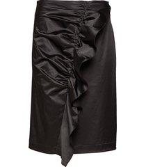 clara skirt knälång kjol svart designers, remix