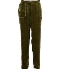 day fertil pantalon met rechte pijpen groen day birger et mikkelsen
