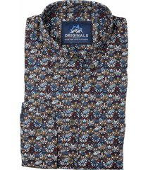gcm overhemd met print regular fit 5317/480