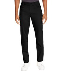 calvin klein men's ck move 365 slim-fit performance stretch pants