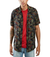guess men's rogan slim fit shirt