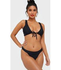 nly beach frame bikini panty hela set