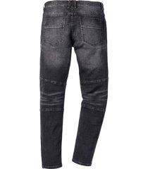 jeans elasticizzati slim fit straight (nero) - rainbow