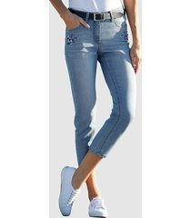 3/4-jeans dress in blauw