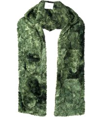 goodfight mitten hood scarf - green