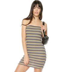 vestido multicolor ambiance