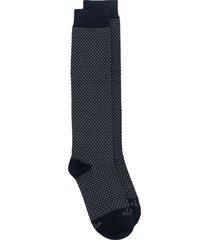 altea intarsia-knit socks - blue