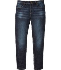 jeans elasticizzati slim fit tapered (blu) - john baner jeanswear