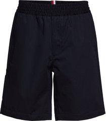 cargo short shorts casual svart hilfiger collection