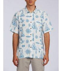 waterman sailing to see men's short sleeve shirt