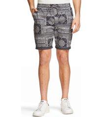 tallia men's slim fit drawstring shorts