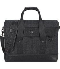 solo bradford slim laptop briefcase
