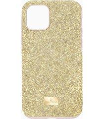 custodia per smartphone con bordi protettivi high, iphoneâ® 11 pro, tono dorato