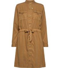 dress kort klänning brun sofie schnoor
