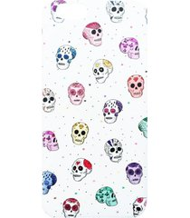 etui na telefon iphone ''skulls''