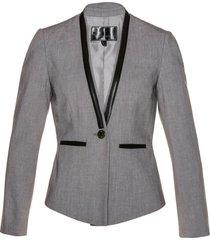 blazer corto (grigio) - bpc selection