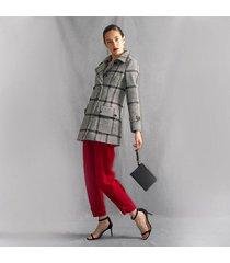 chaqueta para mujer en paño negro color-multicolor-talla-xl