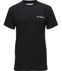 casual tee t-shirts short-sleeved svart han kjøbenhavn