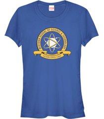 fifth sun marvel women's spider-man homecoming school uniform short sleeve tee shirt