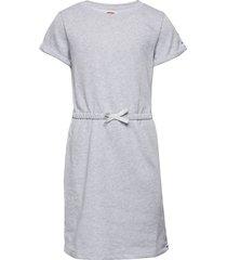 elastic waist ft dress jurk grijs levi's