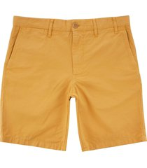 norse projects aros light twill shorts - sunshine yellow n35-0237