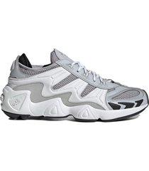 zapatilla gris adidas originals fyw s97