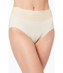 bali women's passion for comfort lace-waist brief underwear dfpc61