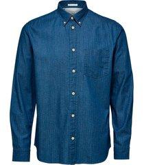 skjorta slhregperfect-larson shirt ls w